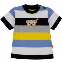 Steiff T-Shirt Ju. 5-farbig Ringel