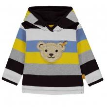 Steiff Sweatshirt Ju. 5-farbig Kapuze