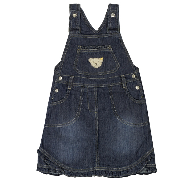 Steiff Basic Jeans Latzrock