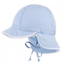 Maximo Baby Schildmütze Nacken, hellblau