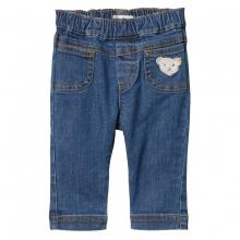 Steiff Baby Jeans Hose Mäd. Taschen