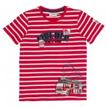 Salt & Pepper T-Shirt Feuerwehr Streifen
