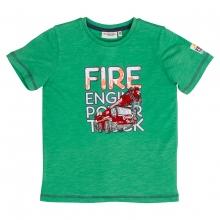 Salt & Pepper T-Shirt Feuerwehr gestickt