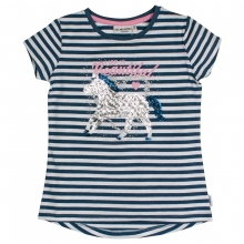 Salt & Pepper T-Shirt `Pferde u.Pail.`