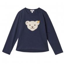 Steiff T-Shirt lg.Arm Mäd.großer Bär