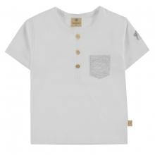Mother Nature T-Shirt Brusttasche Knöpfe