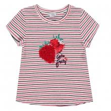 Königsmühle T-Shirt Ringel mit Erdbeeren