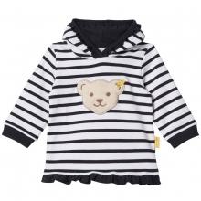Steiff Baby Sweatshirt Mäd. Kapuze Rüsch