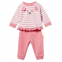 Steiff Baby Set Mäd.Sweat+Jogginghose