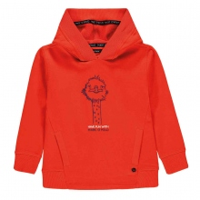 Marc O` Polo Sweatshirt orange Tierprint