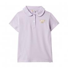 Steiff Polo T-Shirt Mäd. runder Kragen