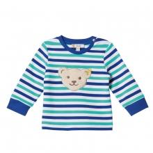 Steiff Baby Sweatshirt Ju.Ringel blau-gr