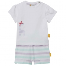 Steiff Baby Set Shorts+Shirt Giraffe