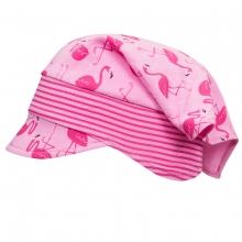 Döll Kopftuch mit Schirm,Jersey,Flamingo