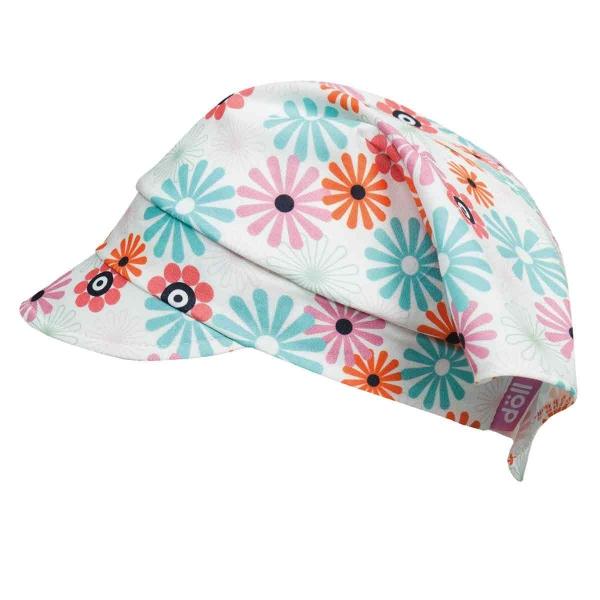 Döll Kopftuch mit Schirm, Blumen