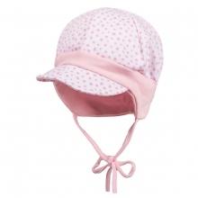 Maximo Baby Mütze mit Schild   Punkte