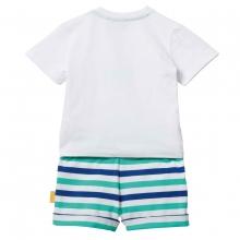 Steiff Baby Set Shorts+Shirt Ju.Seestern