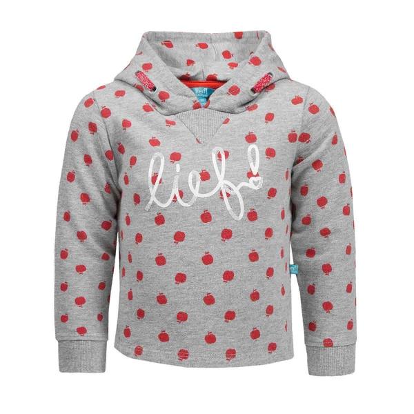 Lief! Sweatshirt Kapuze,Apfeldruck