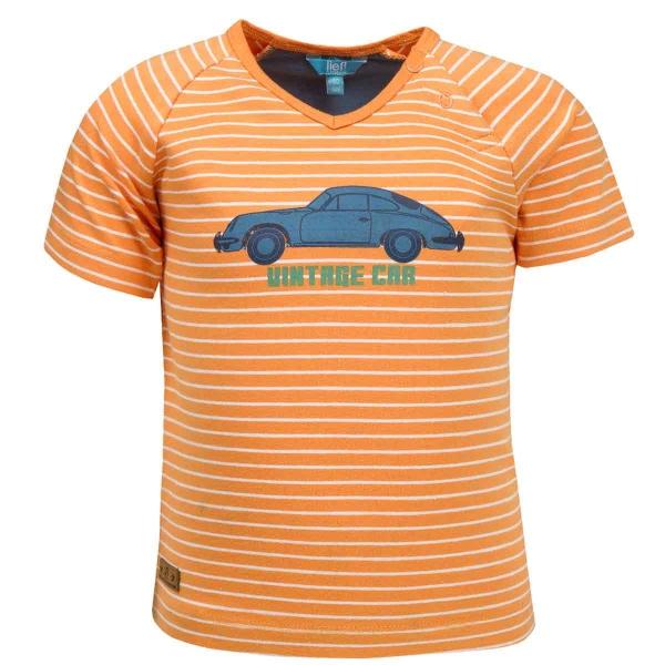 Lief! T-Shirt 1/4 Arm Streifen Auto