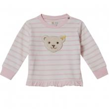 Steiff Baby Sweatshirt Mäd.Ringel Rüsche