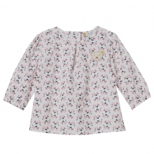 Steiff Baby Bluse Allover-Print