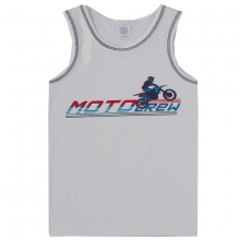 Sanetta Hemd Junge Motocross Schriftzug