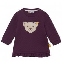 Steiff Baby Sweatshirt gesteppt Rüsche