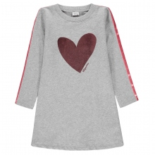 Königsmühle Sweatshirt Kleid lg.Arm Herz