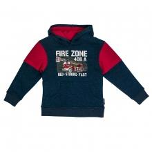 Salt & Pepper Kap`sweatshirt Feuerwehr