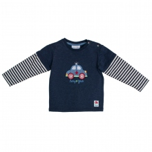 Salt & Pepper Babyglück Shirt 2 in1 Auto