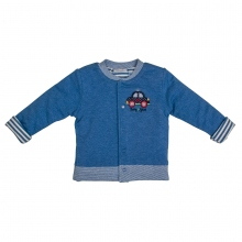 Salt & Pepper Babyglück Sweatjacke Auto