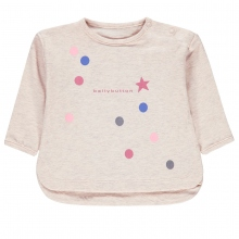 Bellybutton Baby Shirt lg.Arm Mäd Punkte
