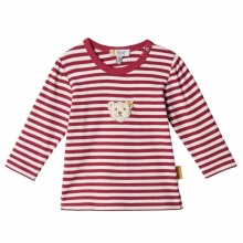 Steiff Baby T-Shirt lg.Arm Roteringel