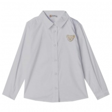 Steiff klassische Bluse weiß