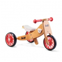 Steiff Dreirad,umwandelbar zum Laufrad