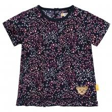 Steiff T-Shirt Mäd.allover Herzen Rüsche