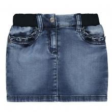 Steiff Jeansrock Rüschentaschen