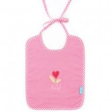 Lief! Lätzchen rosa Herzblume