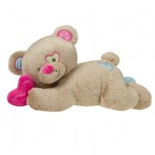 Lief! Teddy Spieluhr pinkes Herz