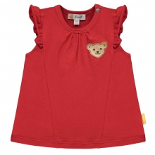 Steiff Baby T-Shirt o.Arm Mäd. Rüschen