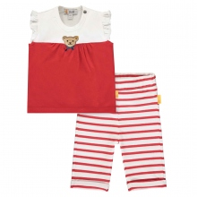 Steiff Baby Set Leggings+Shirt Mäd.