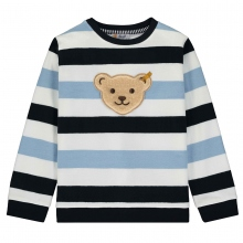 Steiff Sweatshirt Ju. Blaue Blockringel