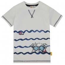 Steiff T-Shirt Ju. Wellen Bär