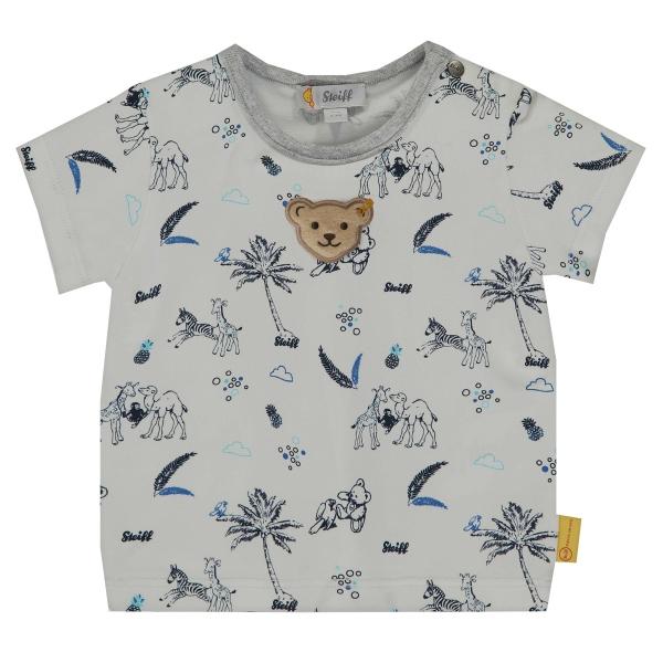 Steiff Baby T-Shirt Ju.Tiere Palmen