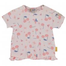 Steiff Baby Shirt Mäd.Kirschen Rüsche
