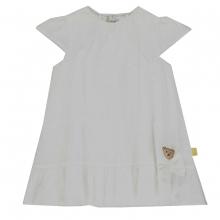 Steiff Kleid Lochstickerei weiß