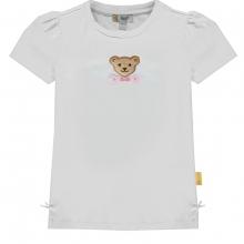 Steiff T-Shirt Mäd. zwei Blüten