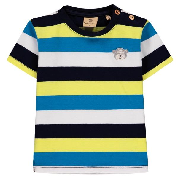 Mother Nature Ju.Shirt farbige Streifen