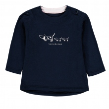 Bellybutton Baby Shirt lg.Arm Mäd.Hunde