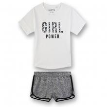 Sanetta Schlafanzug Mäd.kurz Girl Power